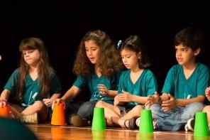Apresentação de Musicalização no Teatro Dez 2016